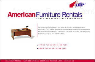 Multimedia Studio Ltd Portfolio American Furniture Rental